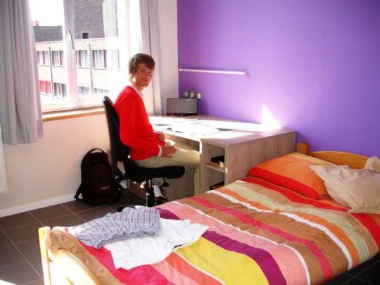 Kamers accommodatie internaat edugo - In een kamer ...